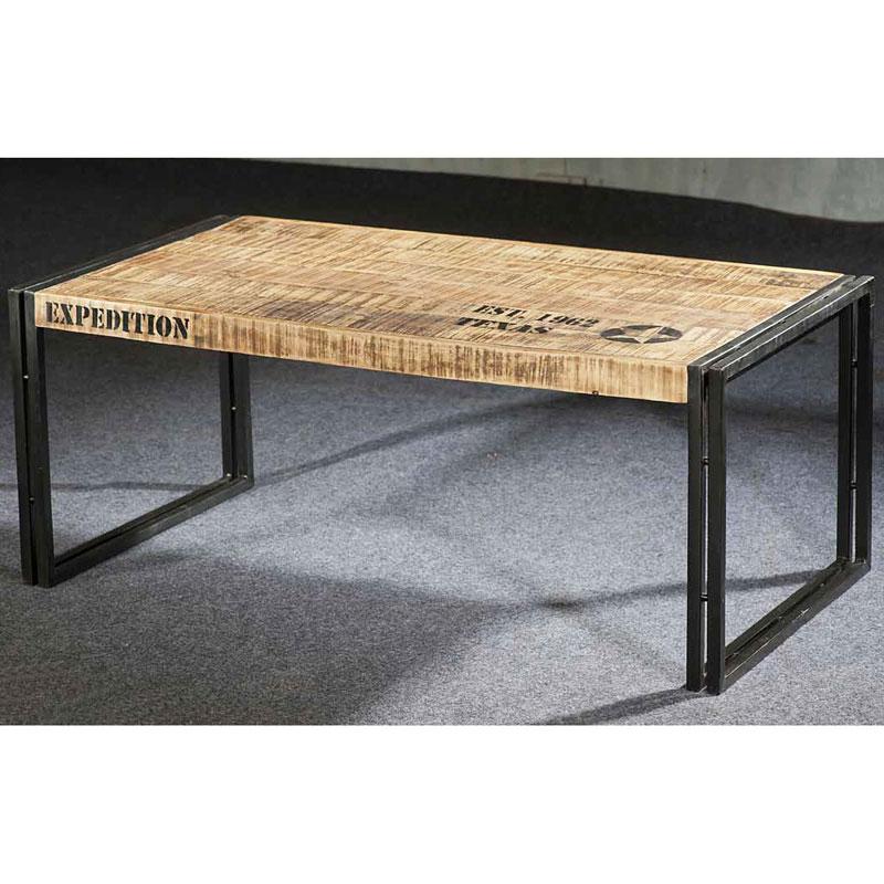 Longue Basse Industriel Mobilier Style Table doeCBx