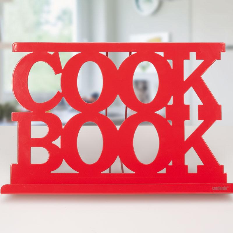 lutrin de cuisine métal rouge - achat / vente porte livre de