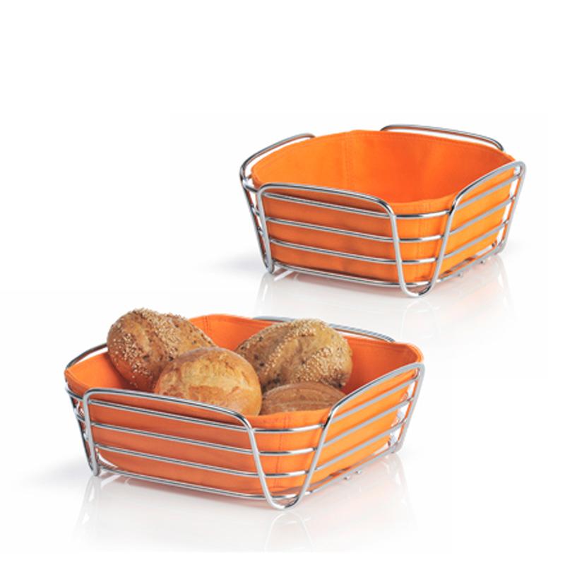 corbeille pain design delara blomus orange achat vente corbeille pain design orange. Black Bedroom Furniture Sets. Home Design Ideas
