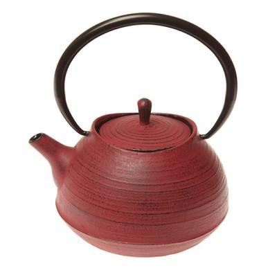 Théière en Fonte Zen Rouge pour 48€