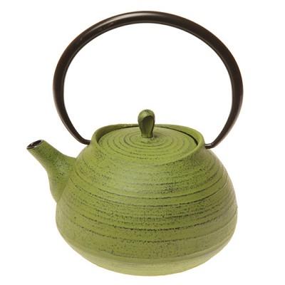 Théière en Fonte Zen Verte pour 48€