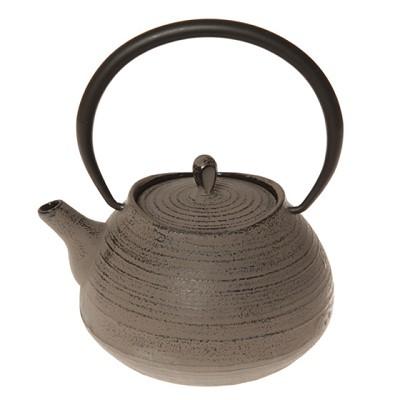 Théière en Fonte Zen Taupe pour 48€