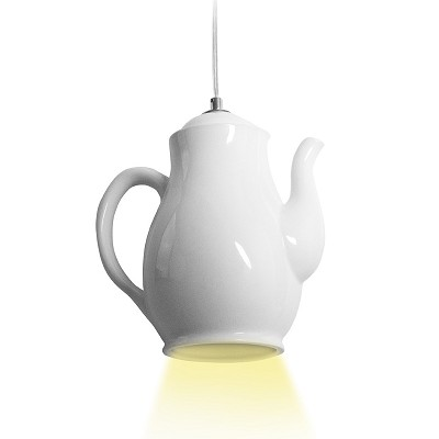 Lampe Suspension Cafetière Design