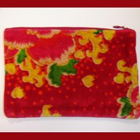 Trousse Jimmy Pivoine Rouge