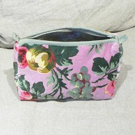 Trousse de Maquillage Flower Rose