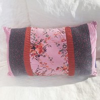 Coussin Chunat Forest Rose Blush