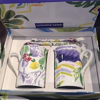 GENEVIEVE LETHU Collection VENCE Coffret 2 Mugs