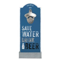 Décapsuleur Mural SAVE WATER DRINK BEER