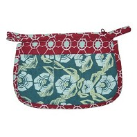 Pochette Make Up FLOWER BLEU CANARD