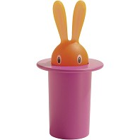 MAGIC BUNNY Porte Cure Dents ALESSI Rose