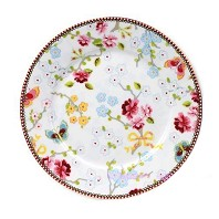 PIP Studio Assiette Plate Chinese Rose Blanc 17 cm