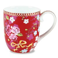 PIP Studio Petit Mug chinese Rose Rouge