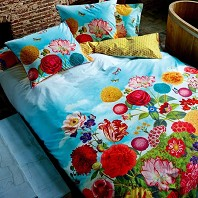 PIP Studio Housse Couette 200 x 200 cm + 2 Taies Wild Flowerland