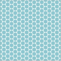 PIP Studio Drap Housse 140 cm Dot Big Bleu