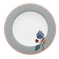 PIP Studio Collection Floral Fantasy Bleu Assiette Creuse 21,5 cm