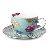 PIP Studio Collection Floral Fantasy Bleu Tasse à Thé