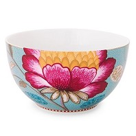 PIP Studio Collection Floral Fantasy Bleu  Bol 15 cm
