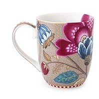 PIP Studio Collection Floral Fantasy Kaki Petit Mug