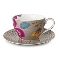 PIP Studio Collection Floral Fantasy Kaki Tasse à Thé