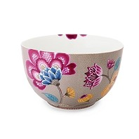 PIP Studio Collection Floral Fantasy Kaki Bol 15 cm