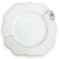 PIP Studio Collection Royal White Assiette de Table 28 cm