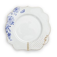 PIP Studio Collection Royal White Assiette à Dessert 23.5 cm