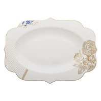 PIP Studio Collection Royal White Plat Ovale 40 cm