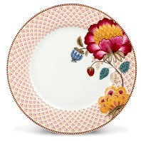 PIP Studio Collection Floral Fantasy Blanc Assiette de Table 26,5 cm