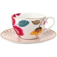 PIP Studio Collection Floral Fantasy Blanc Tasse à Thé