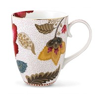 PIP Studio Collection Floral Fantasy Blanc Mug GM