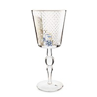 PIP STUDIO Collection ROYAL Verre à Pied GOLDEN FLOWER GM