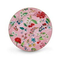 PIP Studio Assiette de Présentation 32 cm Hummingbirds Rose Collection FLORAL2