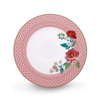 PIP Studio Assiette de Table 26,5 cm Rose Collection FLORAL2