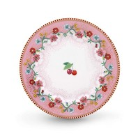 PIP Studio Assiette 17 cm Cherry Rose Collection FLORAL2