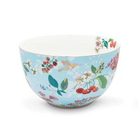 PIP Studio Saladier 23 cm Hummingbirds Bleu Collection FLORAL2