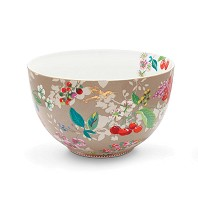 PIP Studio Saladier 23 cm Hummingbirds Kaki Collection FLORAL2