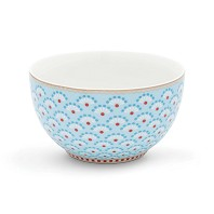 PIP Studio Petit Bol 9,5 cm Bloomingtails Bleu Collection FLORAL2