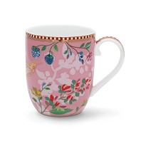 PIP Studio Petit Mug Hummingbirds Rose Collection FLORAL2