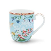 PIP Studio Petit Mug Hummingbirds Bleu Collection FLORAL2