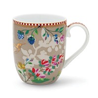 PIP Studio Petit Mug Hummingbirds Kaki Collection FLORAL2