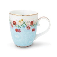 PIP Studio Mug GM Cherry Bleu Collection FLORAL2