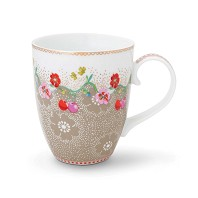 PIP Studio Mug GM Cherry Kaki Collection FLORAL2