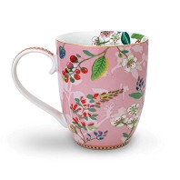 PIP Studio Mug XL Hummingbirds Rose Collection FLORAL2