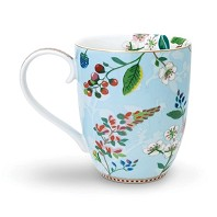PIP Studio Mug XL Hummingbirds Bleu Collection FLORAL2