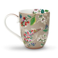 PIP Studio Mug XL Hummingbirds Kaki Collection FLORAL2