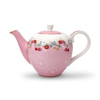 PIP Studio Petite Théière 750 ml Cherry Rose Collection FLORAL2
