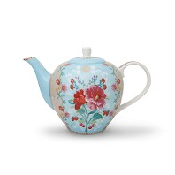 PIP Studio Théière 1.6L Bleu Collection FLORAL2