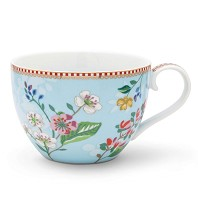 PIP Studio MAXI TASSE 350 ml Hummingbirds Bleu FLORAL