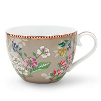 PIP Studio MAXI TASSE 350 ml Hummingbirds Kaki FLORAL