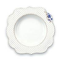 PIP Studio Collection Royal White Assiette Creuse 23,5 cm